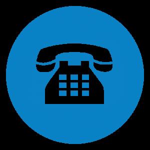 Le numéro de téléphone fixe de contact